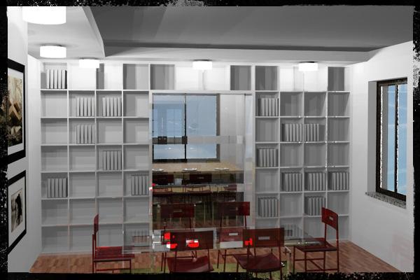 Living room architetti for Living room 2 for daz studio